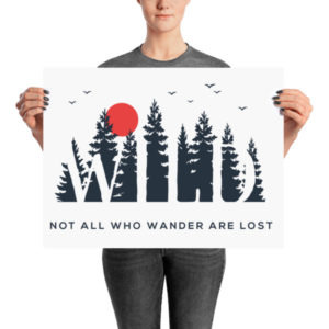 Not All Those Who Wander Poster
