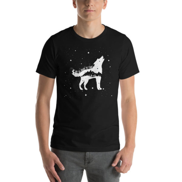 We Are All Made Of Stars Black Shirt